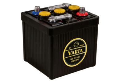 Akkumulátor Varta - 6v 66ah - klasszik autó akku