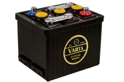 Akkumulátor Varta - 6v 77ah - klasszik autó akku