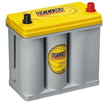 Optima Yellow - 12v 38ah - autó akkumulátor - jobb+ *ázsia*R - 2,7J