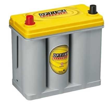Optima Yellow - 12v 38ah - autó akkumulátor - bal+ *S - 2,7