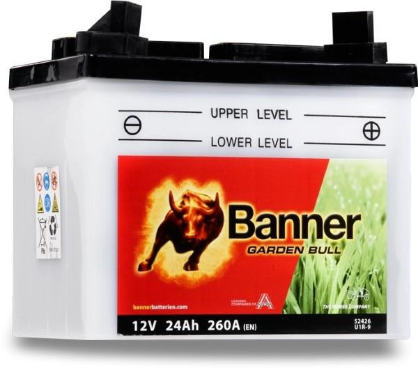 Banner akku Garden Bull 12V 24Ah U1R-9 1