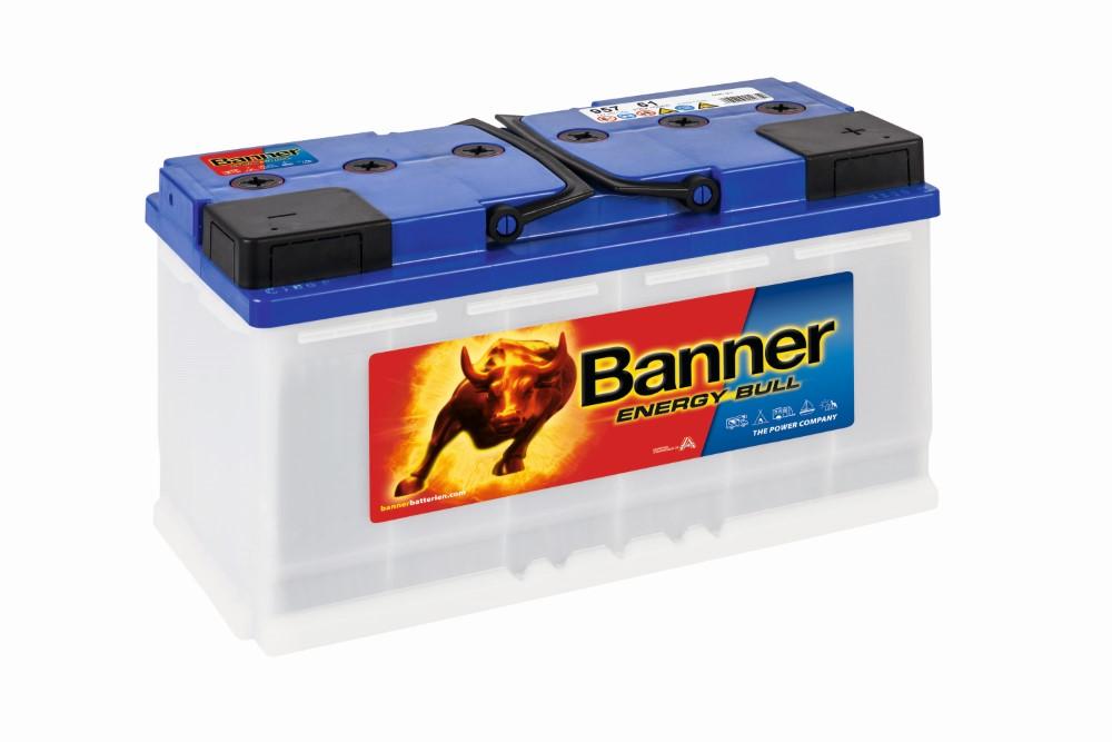 Akkumulátor Energy Bull 100AH 75A