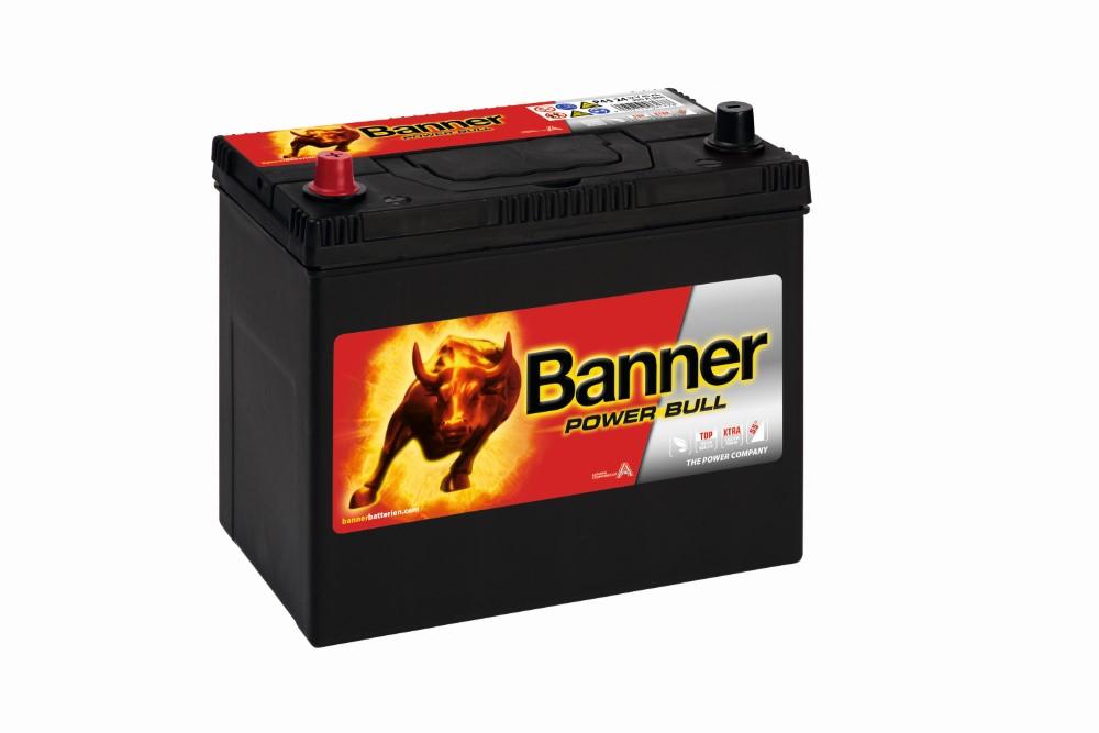 Akkumulátor Power Bull 12V 45AH 360A B+