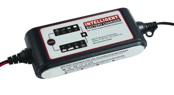 Akkumulátor töltő 4-120Ah között, ajánlás 90 Ah-ig