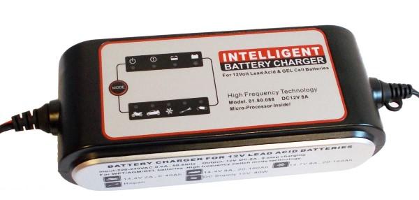 Akkumulátor töltő 4-180Ah között