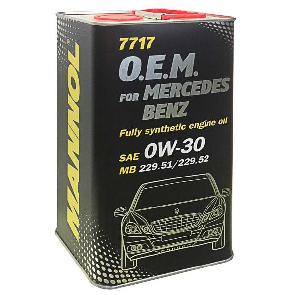 Motorolaj 0W-30 4L 7717 Mercedes 229.51/229.52