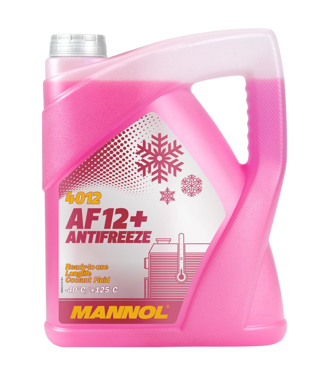 Fagyálló folyadék piros MN4012-5 MN Antifreeze AF12+ (- 40°C)