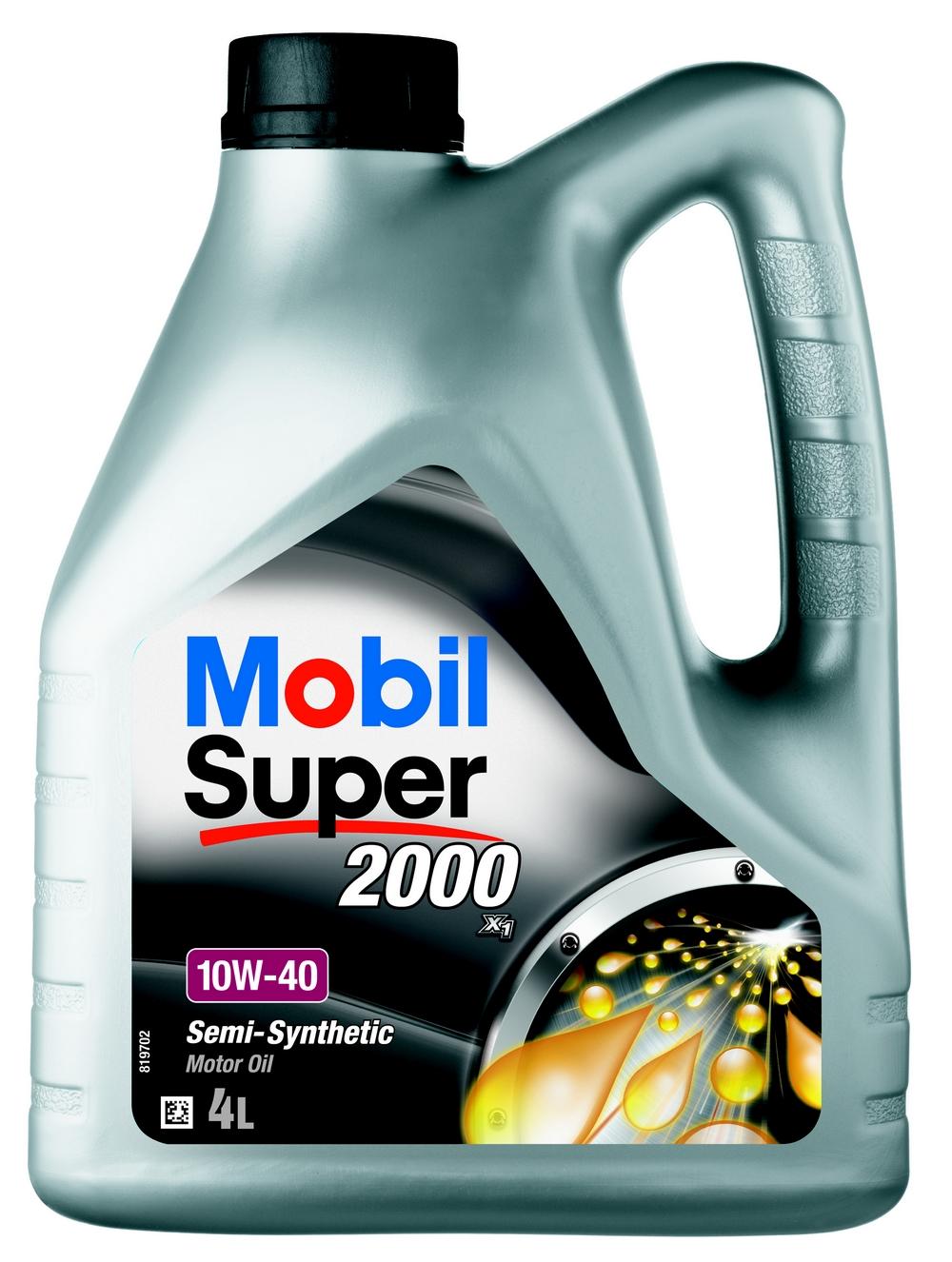 MOTOROLAJ 10W-40 4L Mobil SUPER2000 SL A3/B3
