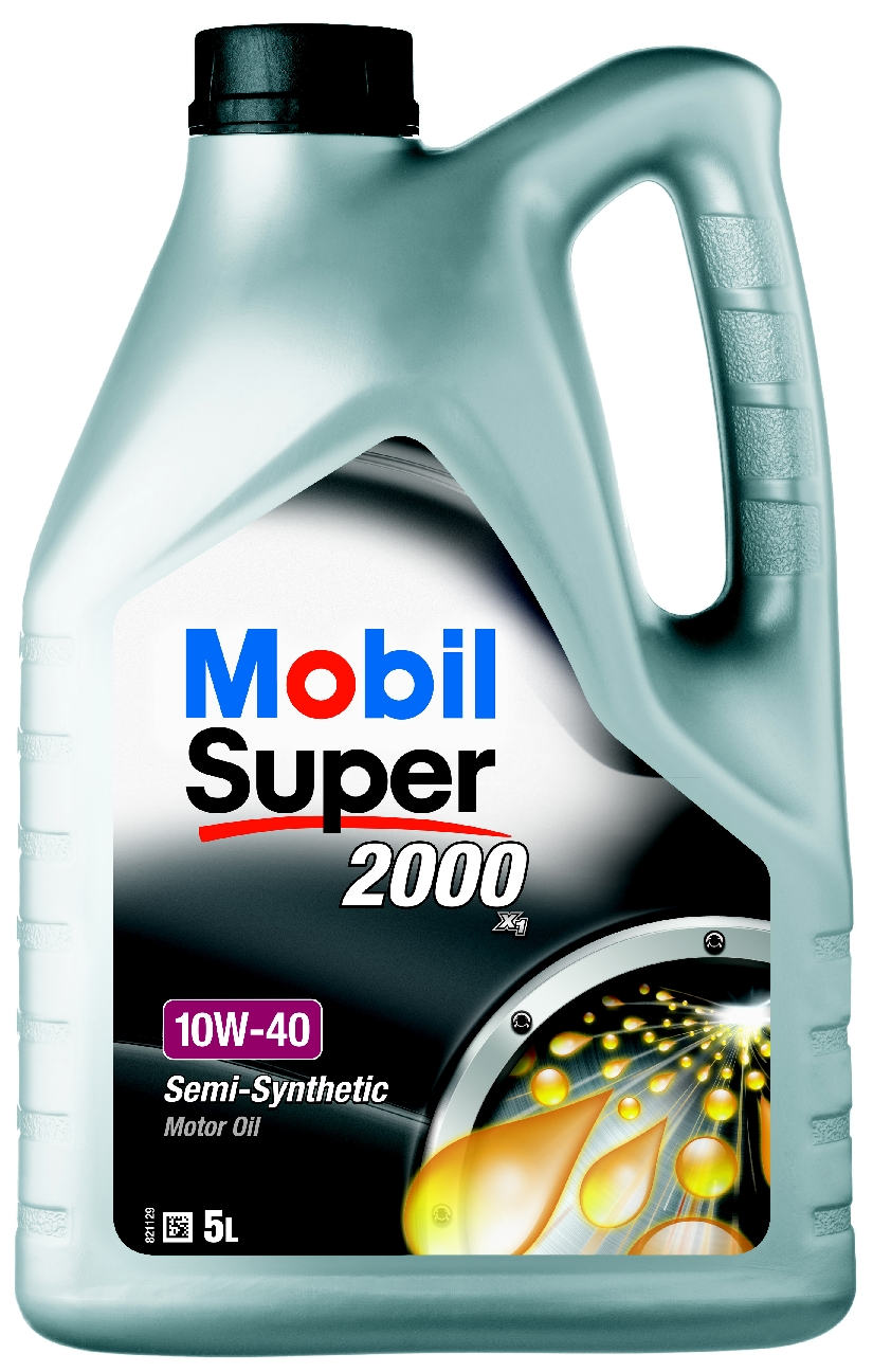 Motorolaj 10W-40 5L Mobil SUPER2000 SL A3/B3