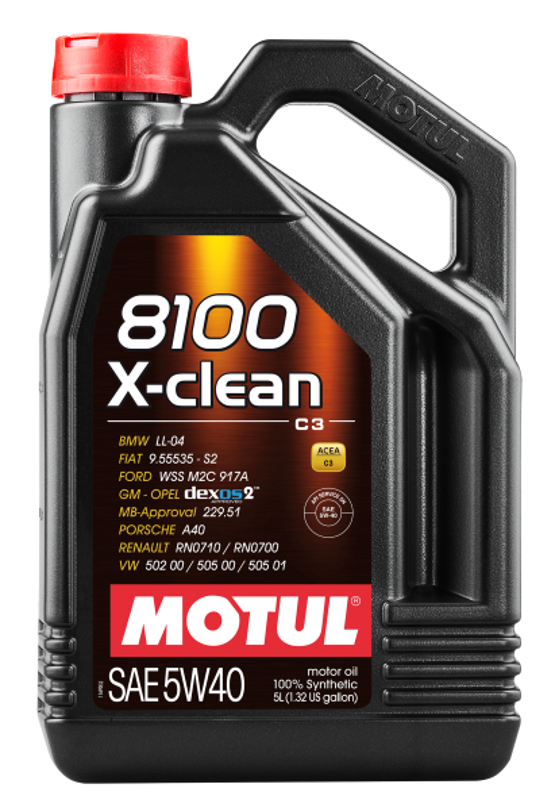 MOTUL AG MOTUL 8100 X-clean 5W-40 5L