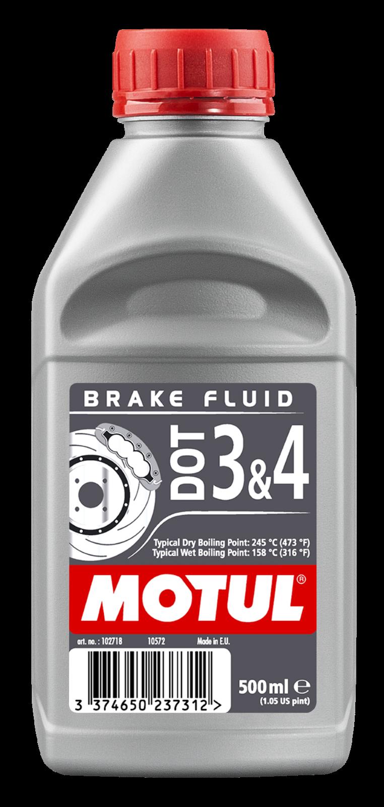 MOTUL AG MOTUL DOT 3 & DOT 4 Brake Fluid 0,5L