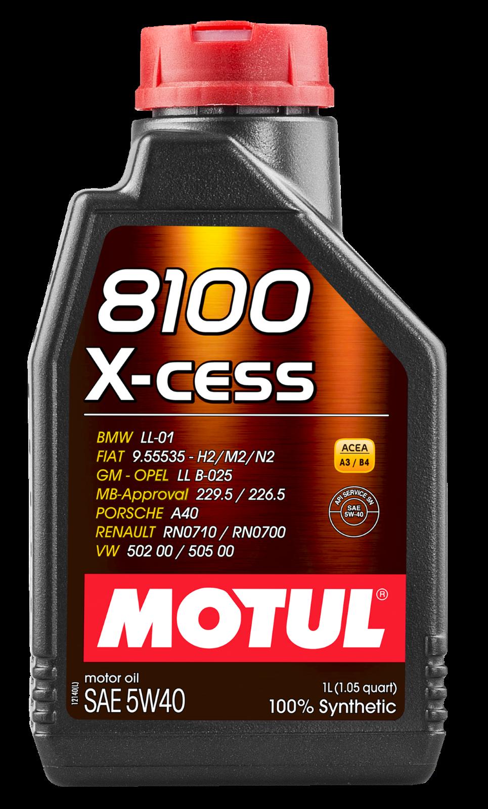 MOTUL AG MOTUL 8100 X-cess 5W-40 1L