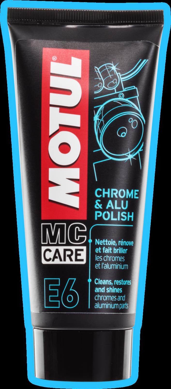 MOTUL AG MOTUL E6 Chrome & Alu Polish 0,1L