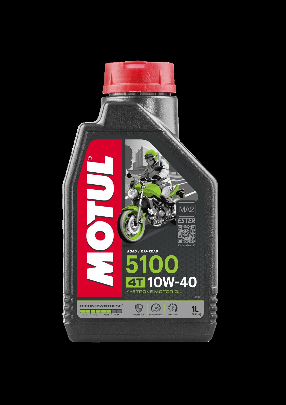 MOTUL AG MOTUL 5100 4T 10W-40 1L
