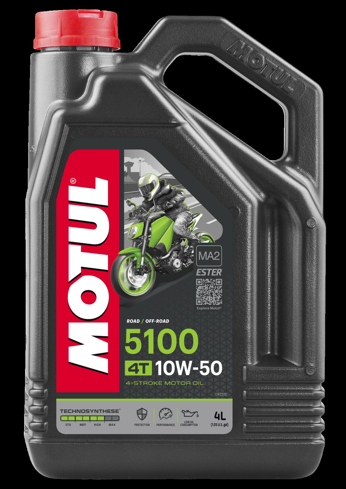 MOTUL AG MOTUL 5100 4T 10W-50 4L