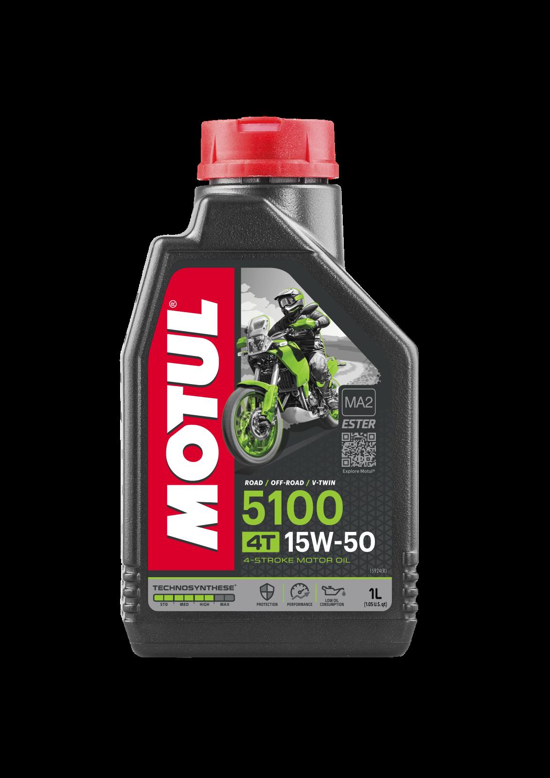 MOTUL AG MOTUL 5100 4T 15W-50 1L