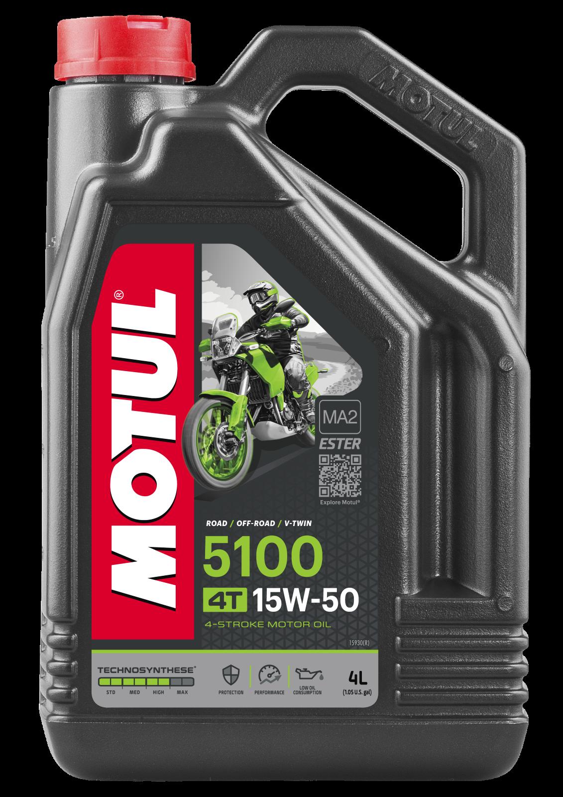 MOTUL AG MOTUL 5100 4T 15W-50 4L