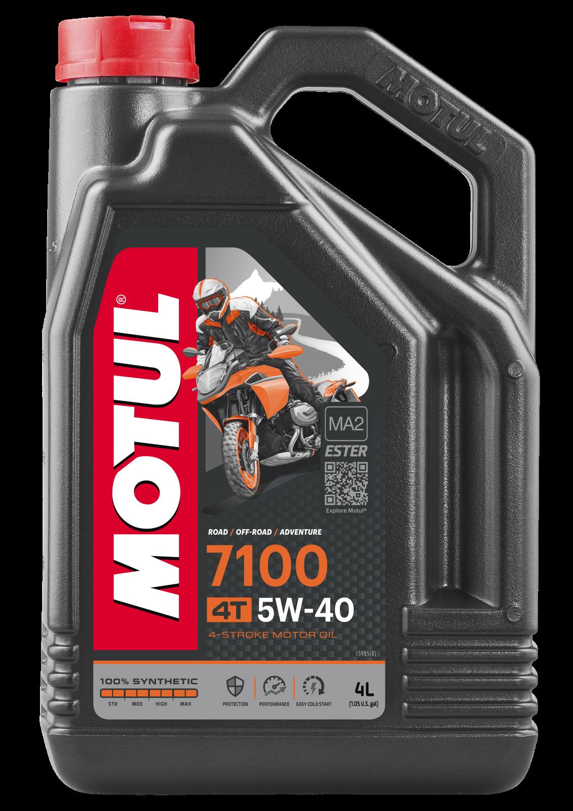 MOTUL AG MOTUL 7100 4T 5W-40 4L