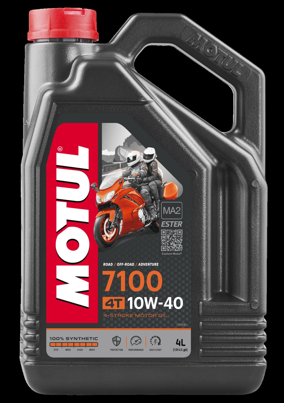MOTUL AG MOTUL 7100 4T 10W-40 4L