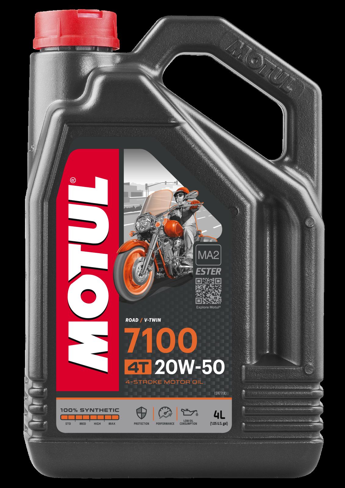 MOTUL AG MOTUL 7100 4T 20W-50 4L