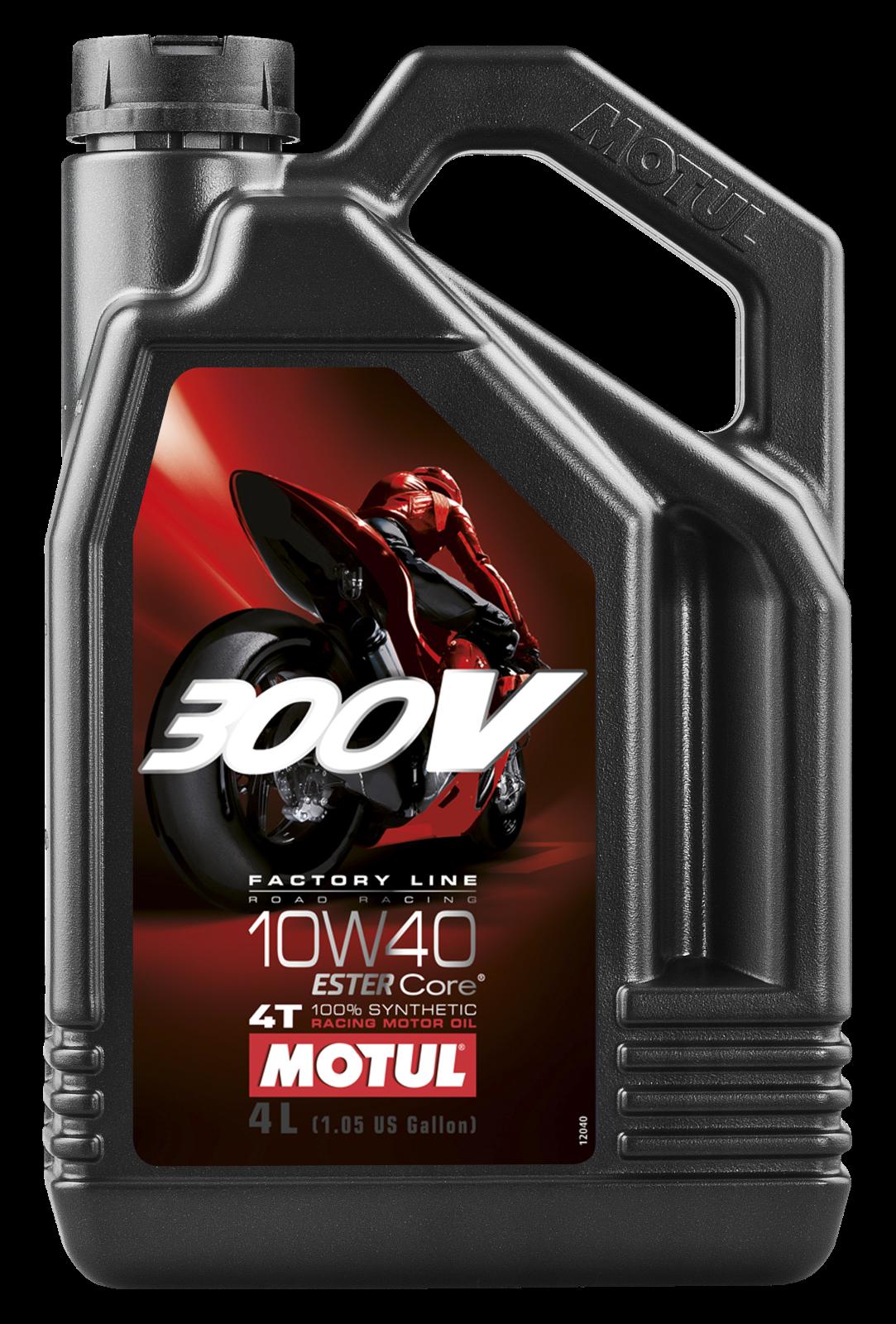 MOTUL AG MOTUL 300V 4T FACTORY LINE 10W-40 4L