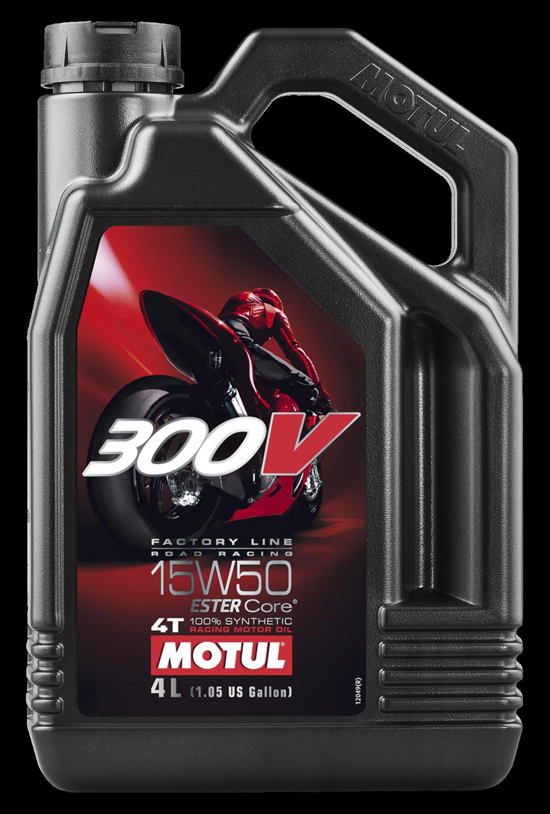 MOTUL AG MOTUL 300V 4T FACTORY LINE 15W-50 4L