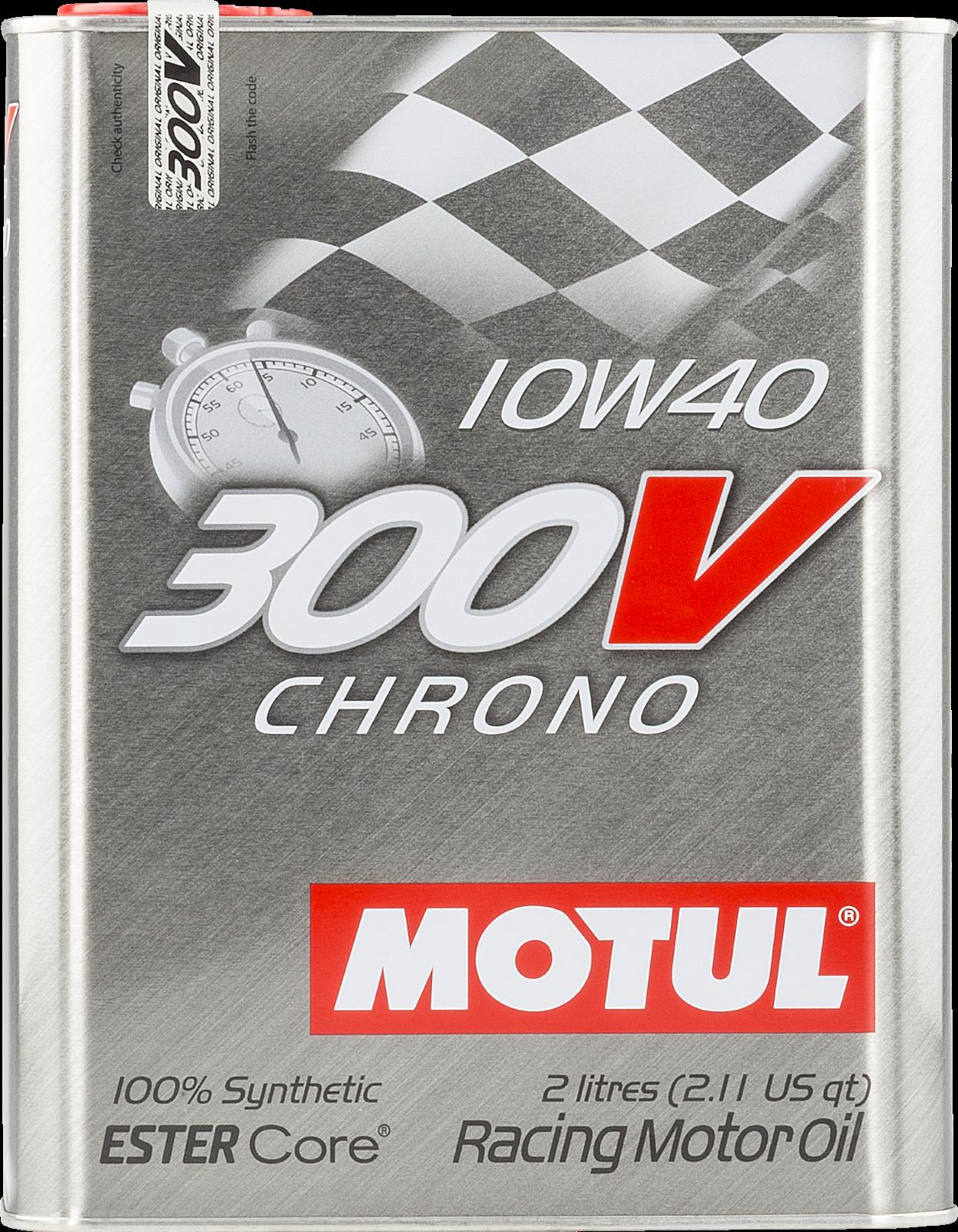 MOTUL AG MOTUL 300V Chrono 10W-40 2L