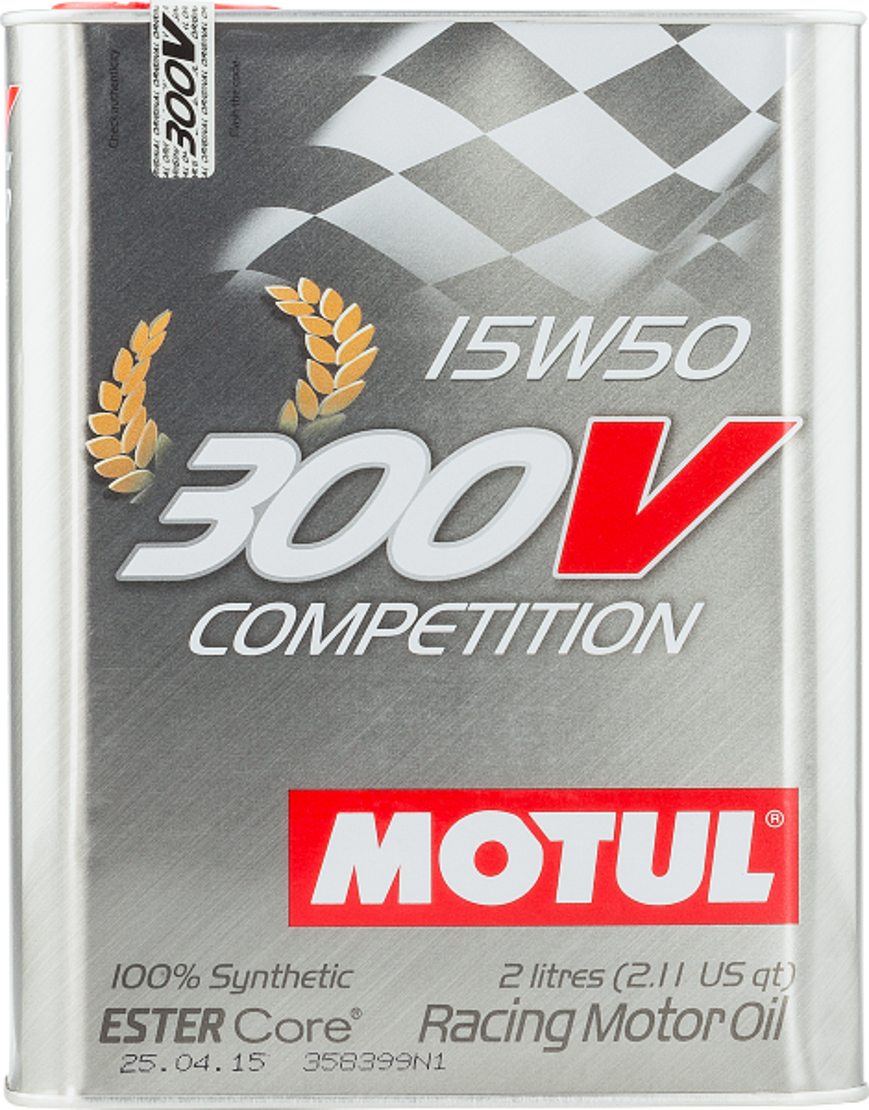MOTUL AG MOTUL 300V Competition 15W-50 2L