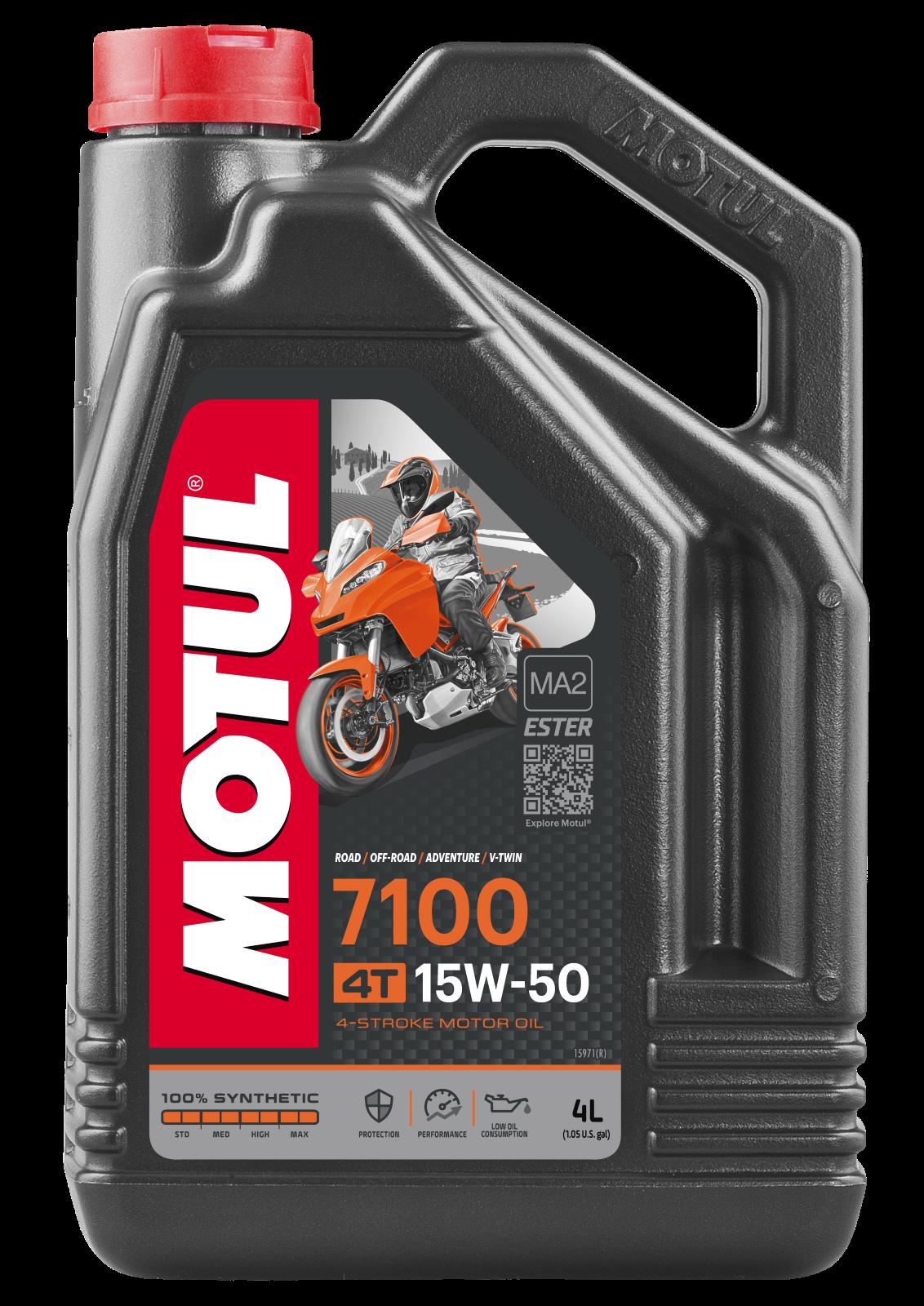 MOTUL AG MOTUL 7100 4T 15W-50 4L