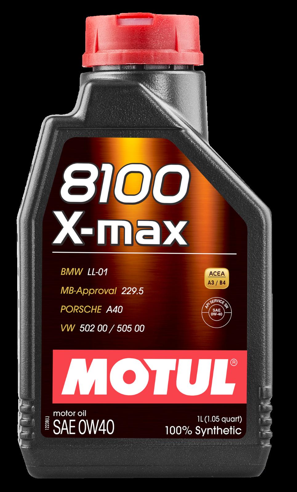MOTUL AG MOTUL 8100 X-max 0W-40 1L