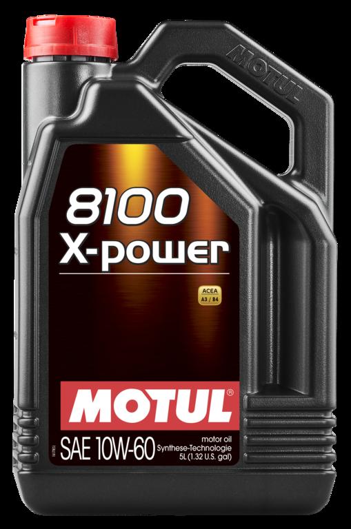 MOTUL AG MOTUL 8100 X-Power 10W-60 4L