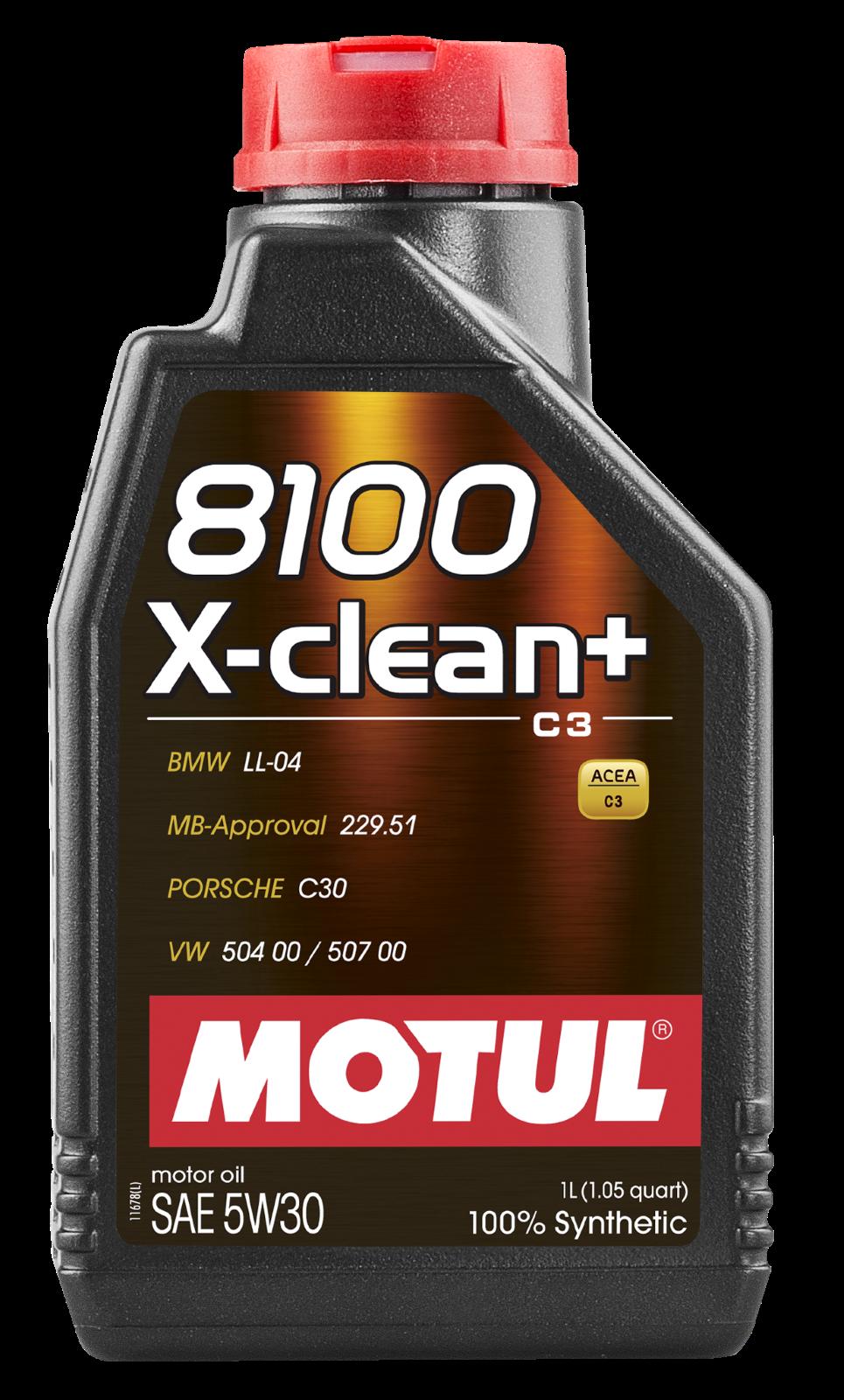 MOTUL AG MOTUL 8100 X-clean + 5W-30 1L