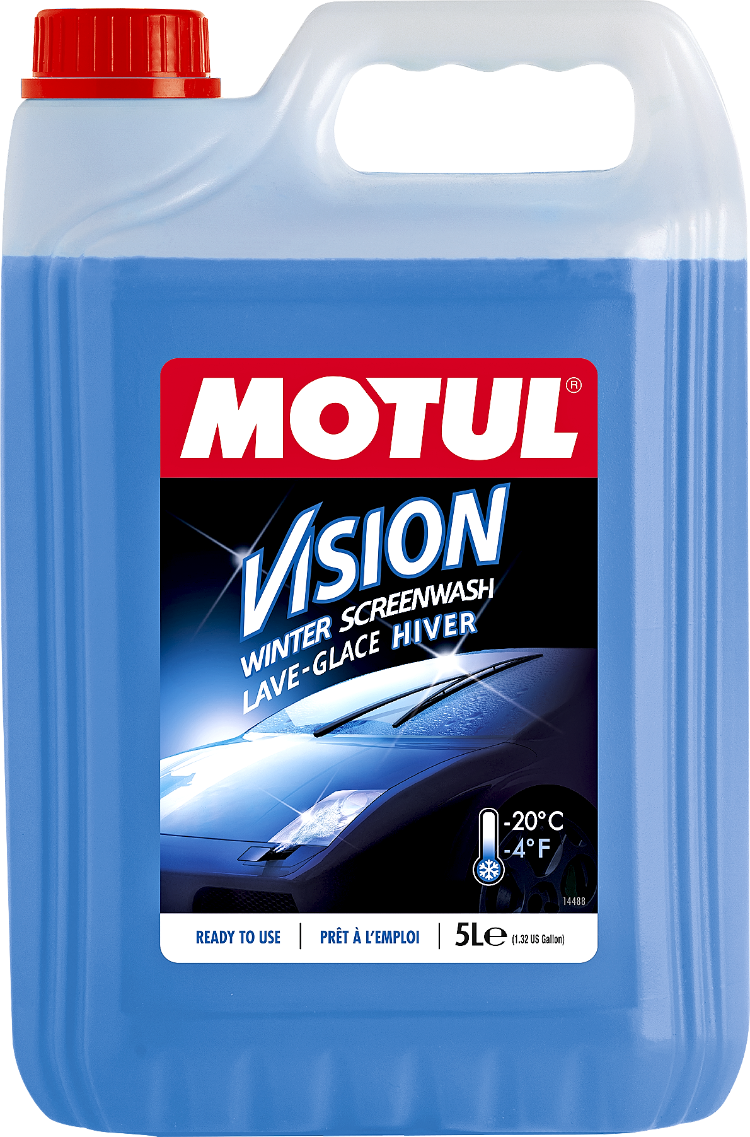 Motul Vision Cl.Winter -20 5L Készre kevert, -20C-ig