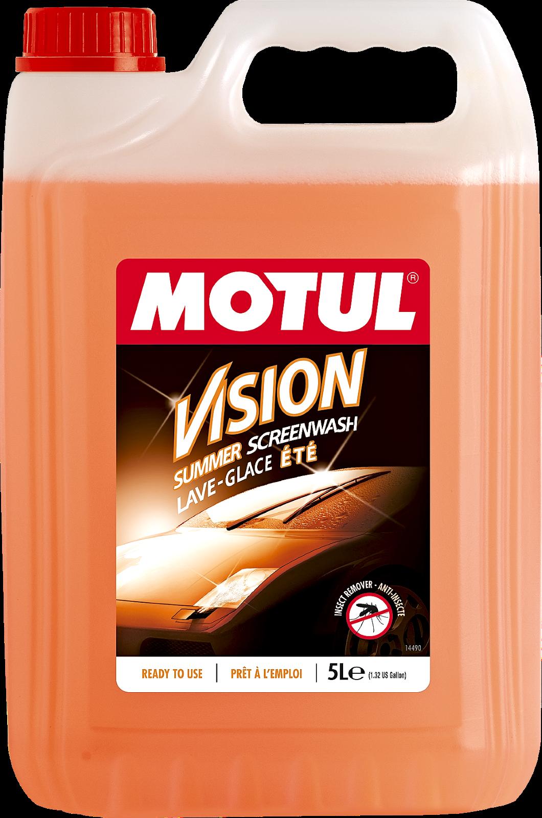 MOTUL Vision Summer Insect Remover nyári szélvédőmosó, bogároldó adalékkal