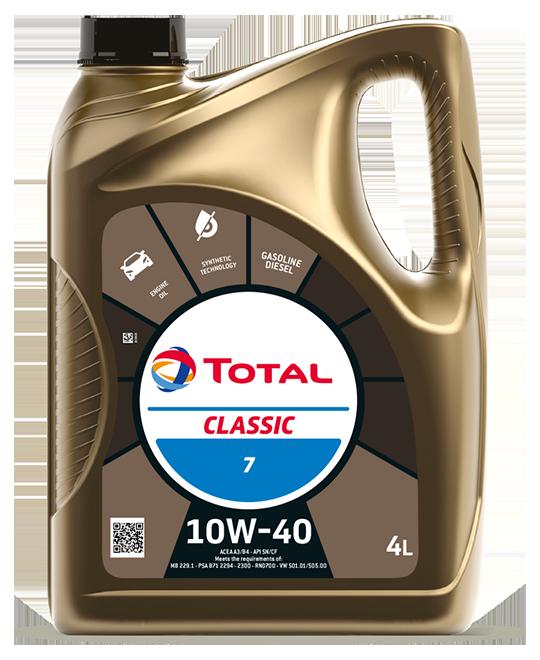 TOTAL CLASSIC 10W40 4L A3/B4 SL/CF