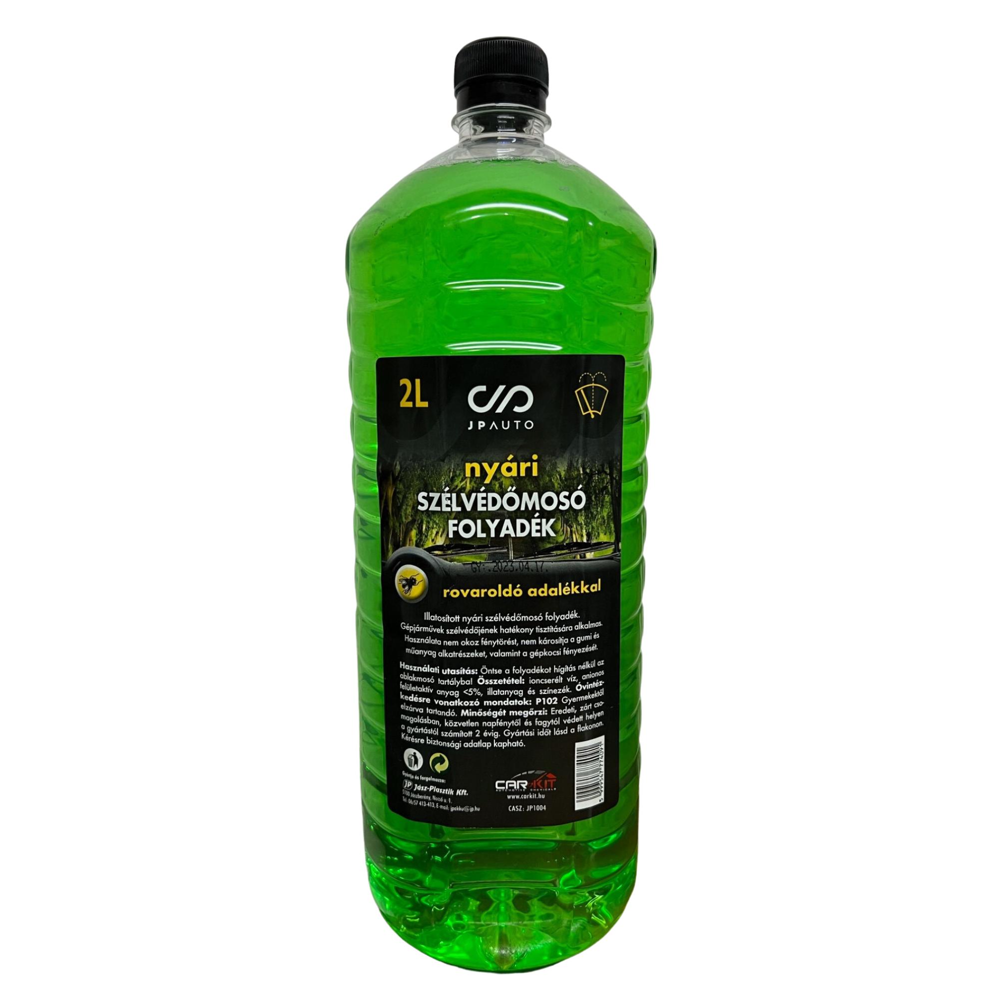 Szélvédőmosó folyadék | Nyári szélvédőmosó bogároldóval 2L