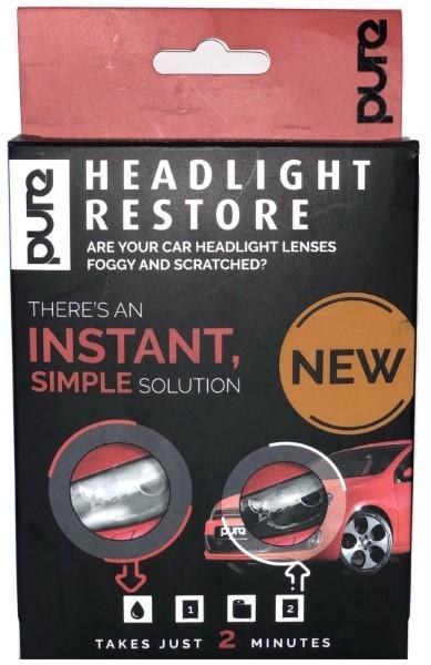 Fényszóró felújító kendő Pure Headlight Restore, fényszóró felújító kendő