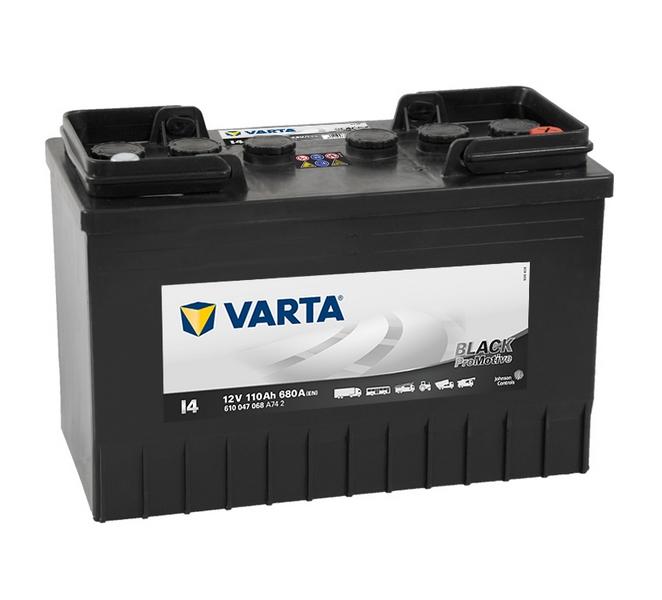 Akkumulátor Varta Promotive Black - 12v 110ah -jobb+