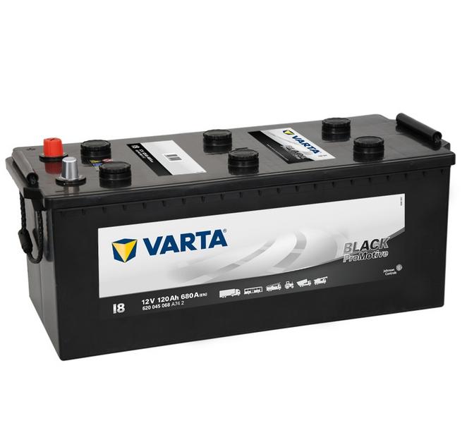 Akkumulátor Varta Promotive Black - 12v 120ah
