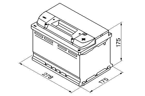 Bosch akku S4 72/680