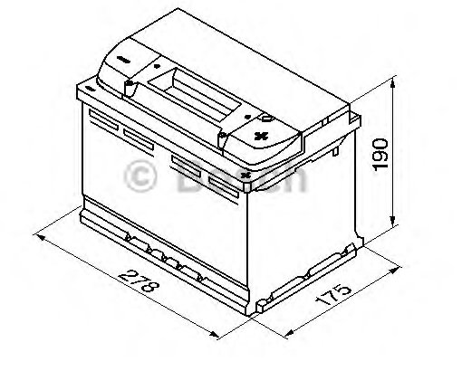 Akkumulátor 12V 74Ah J+ /680A