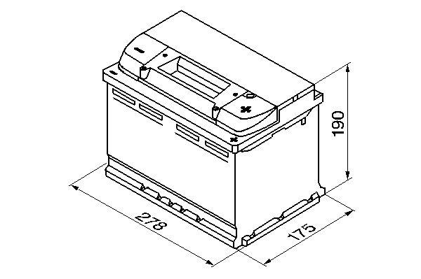 Bosch akku S4 74/680