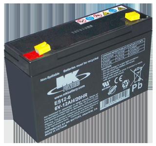 Akkumulátor MK ciklikus akkumulátor MK 6V 12Ah