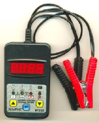 AKKUTESZTER DHC akkumulátor teszter