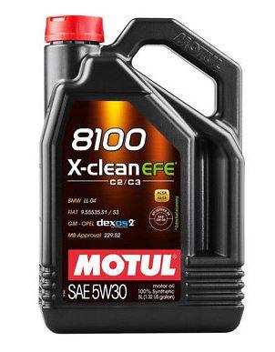 MOTUL 8100 X-clean EFE 5W-30 4L
