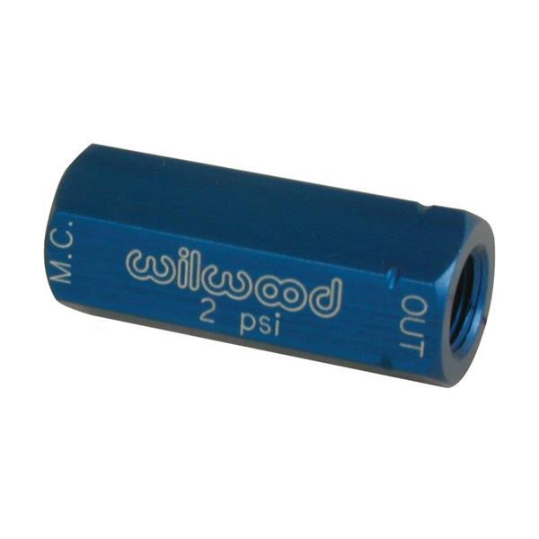Nyomástartó szelep, 2 psi, kék