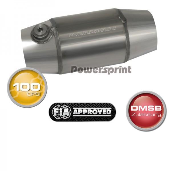 """Powersprint UHF Race 100 4"""" homológ katalizátor - 63,5 mm"""