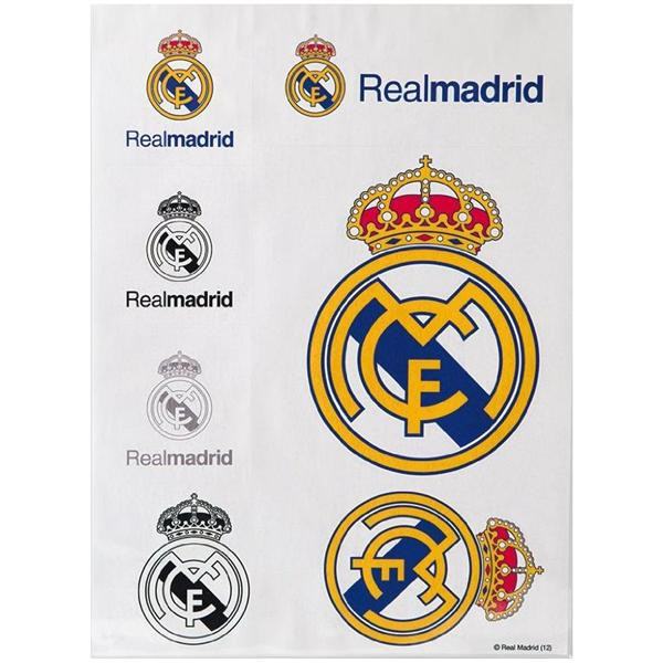 Felragasztható matrica, A4, Real Madrid