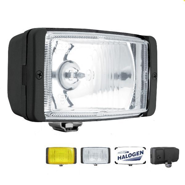 Ködlámpa, szögletes, fehér, 138x78x60mm (HMz080.31, HMZ.08031, HM1.08031)