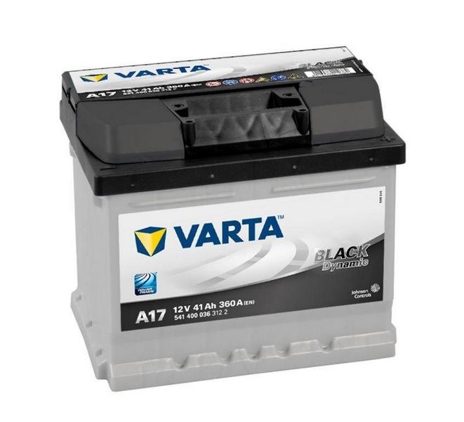 Akkumulátor Black - 12v 41ah - autó - jobb+ *alacsony